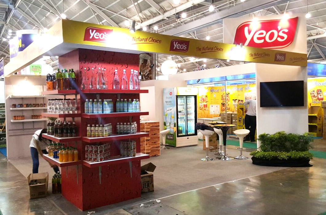 YEO's Exhibition Booth
