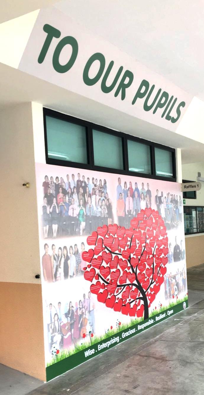 MOE Greenwood Primary School Wall Mural