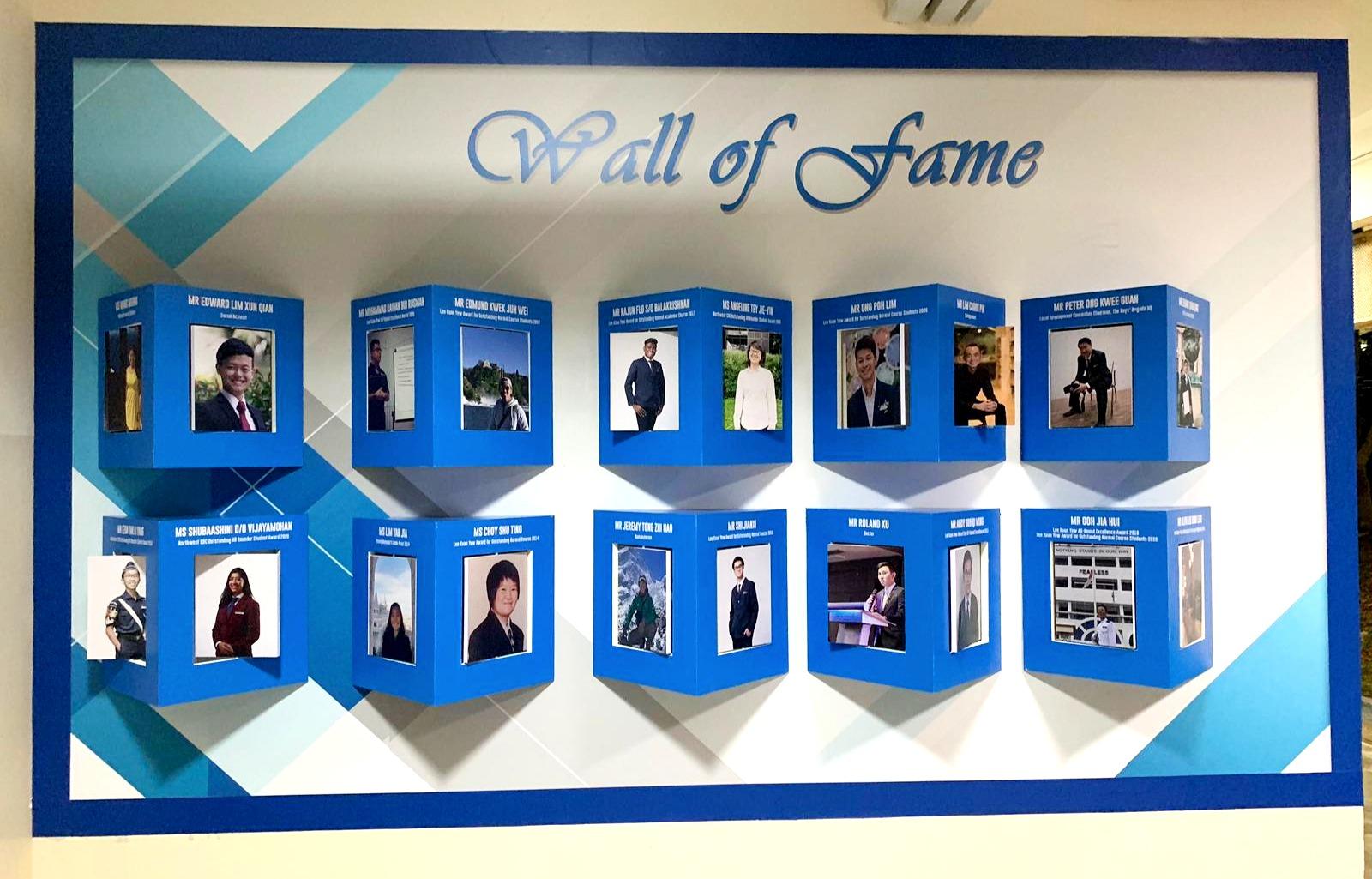 Yishun Town Wall Of Fame