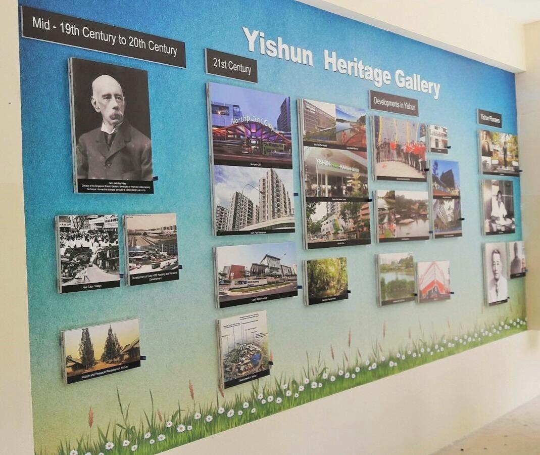 Yishun Town Secondary School Heritage Ga