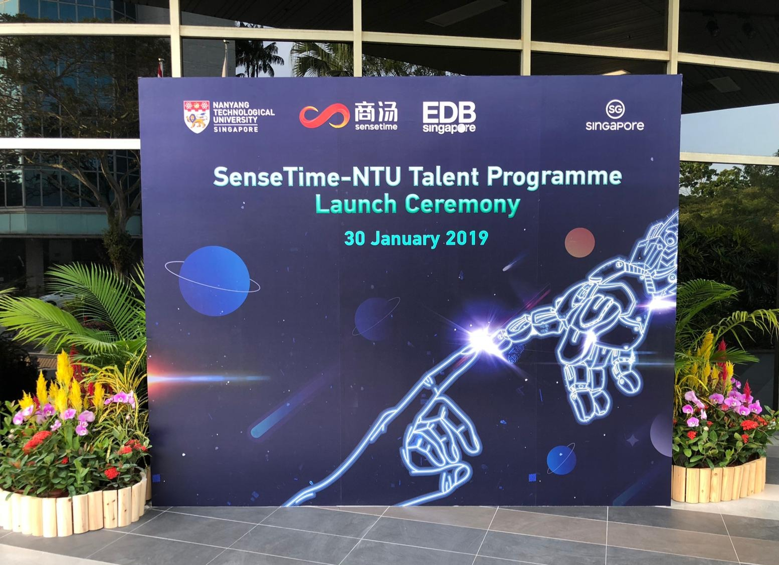 SenseTime-NTU Launch Ceremony 2019