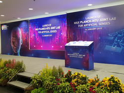Launch of Max Planck-NTU Joint Lab 2019