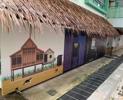 MOE Elias Primary School Wall Mural
