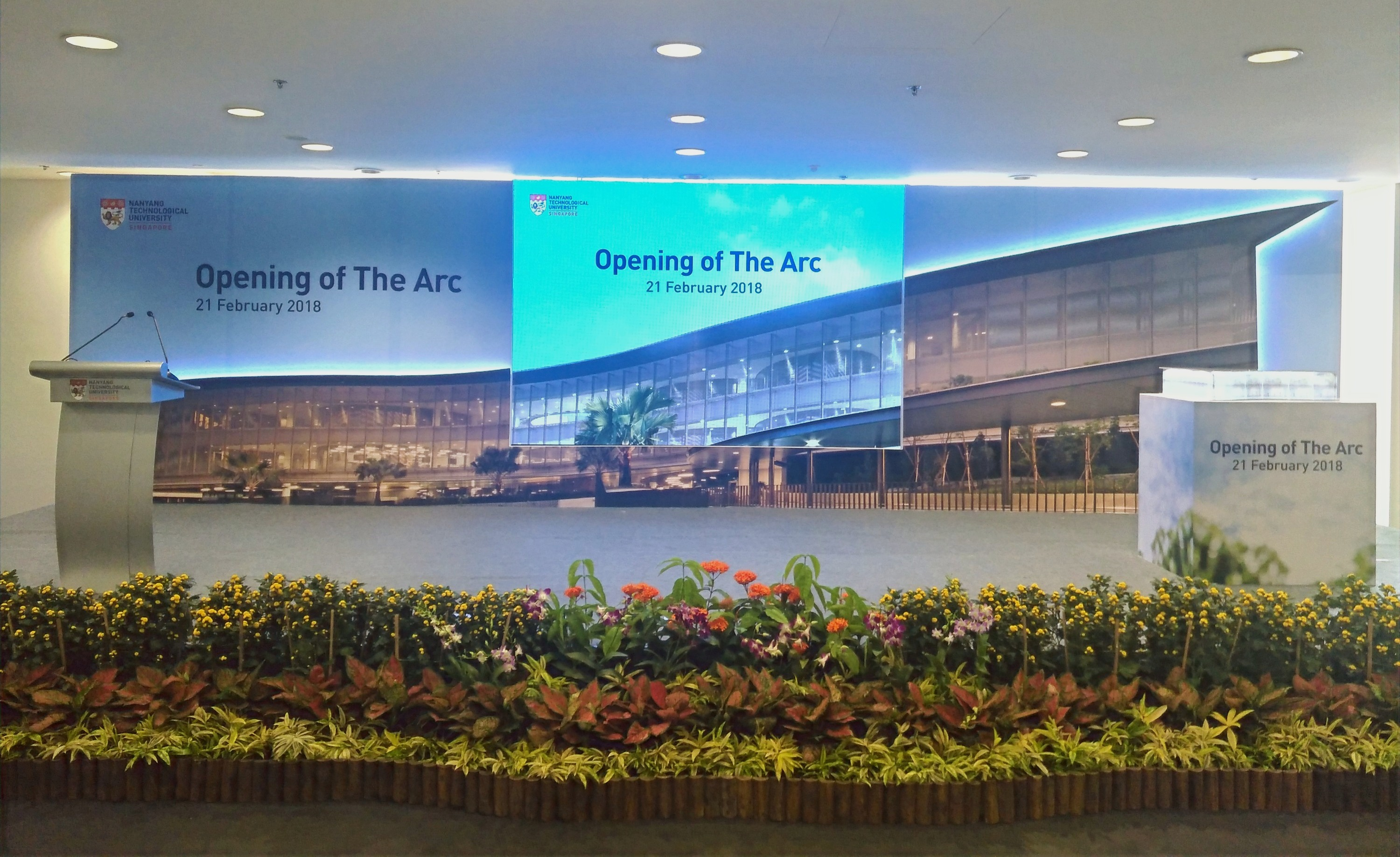 NTU The Arc Opening Ceremony 2018
