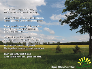 Happy #WorldPoetryDay