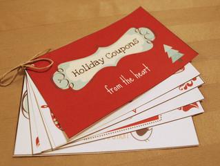 "Homemade Coupon Book – The True ""Shop Local"" Gift Idea"