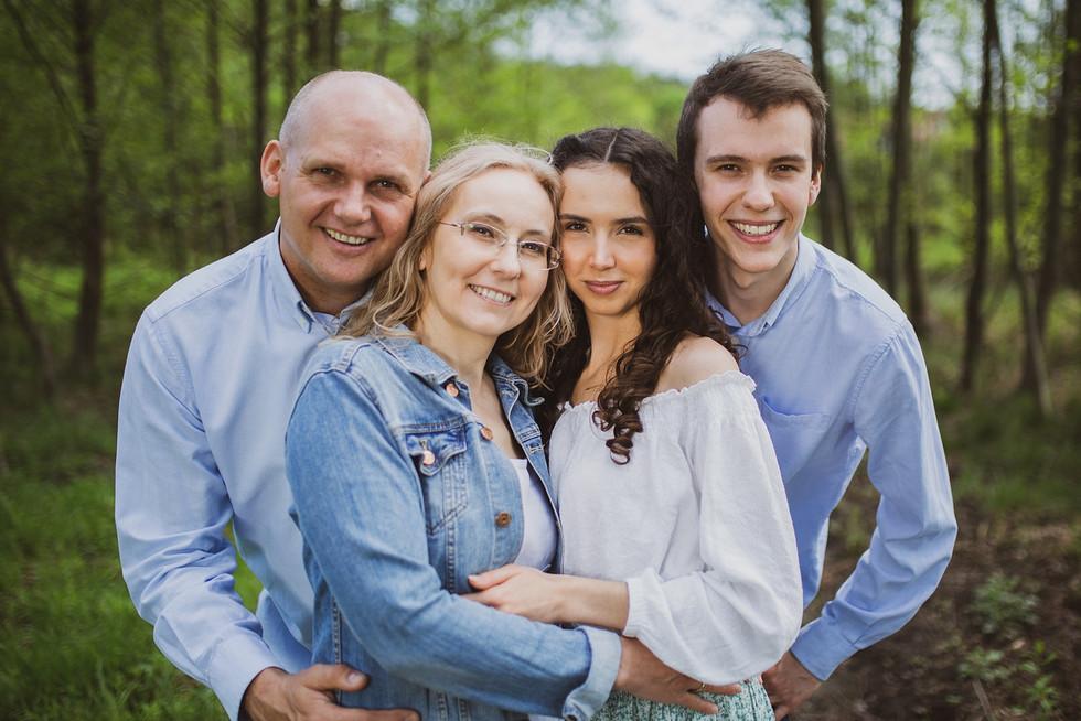 Zobacz galerię grupowych sesji rodzinnych