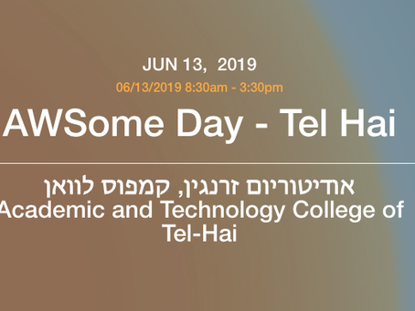 AWSome Day Tel-Hai - 13.6.19