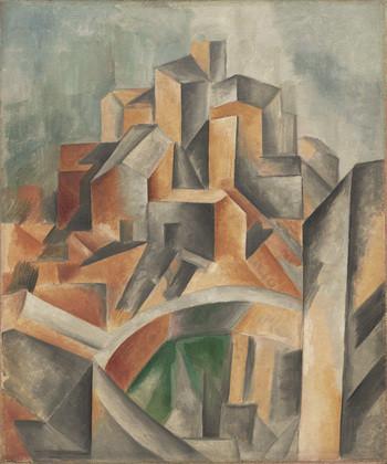 """La Bassa"", Picasso's 1909 cubist masterpiece"