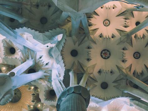 He's Building La Sagrada Familia:        One Stone at a Time