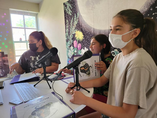 Daughters of Tradition recording N8V-T podcast