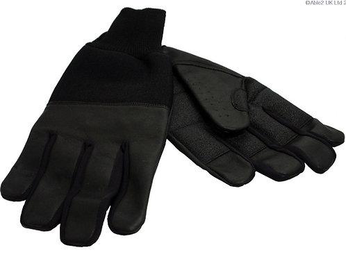 Revara Sports Leather Winter Glove Black - xx large