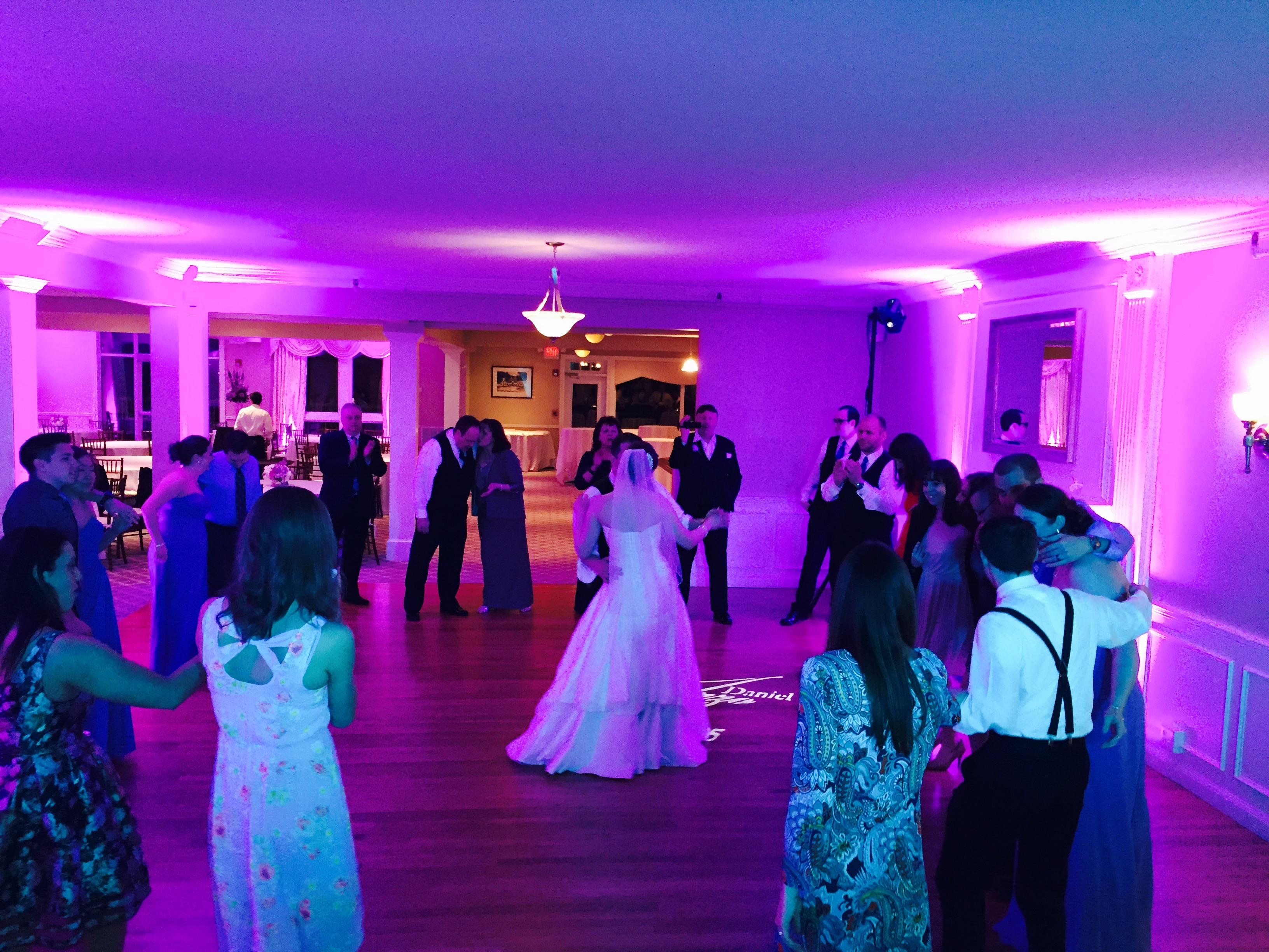 warwick country club wedding dj