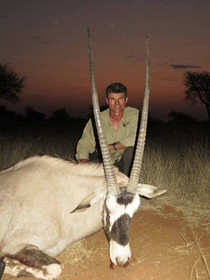 Gemsbok Hunting In Namibia With Markus Michalowitz Downunder Taxidermy Studio & Guiding Services