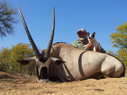 Oryx Plains Game Hunting With Ranchero Safaris Limpopo South Africa