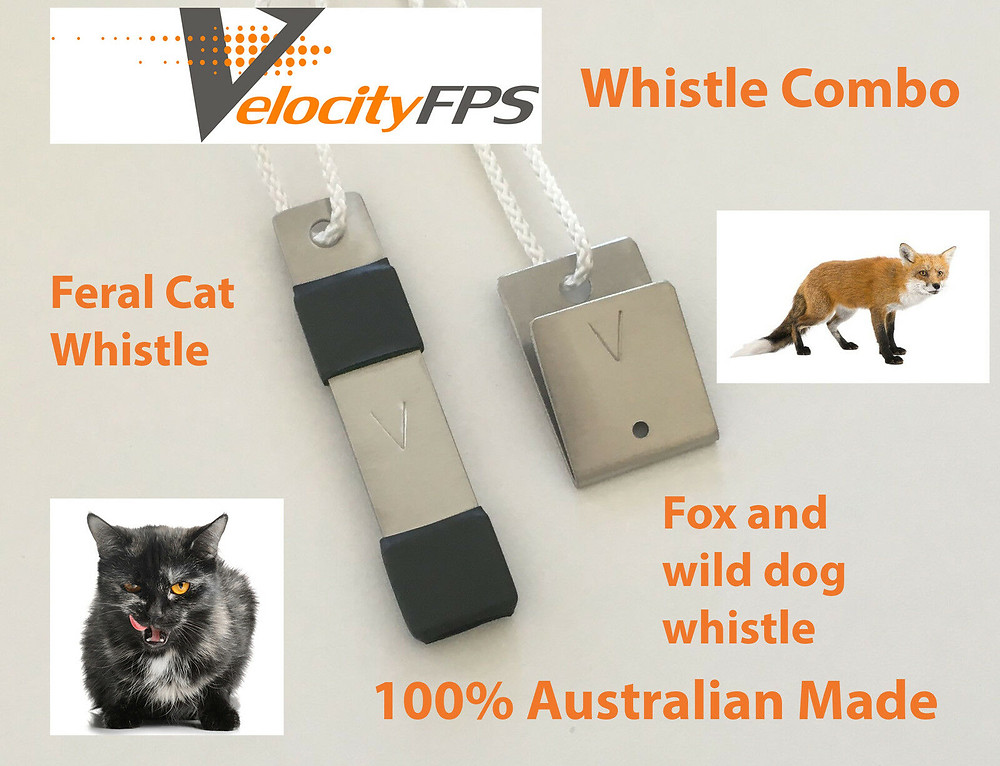 NEW FOX & CAT WHISTLE CALLER