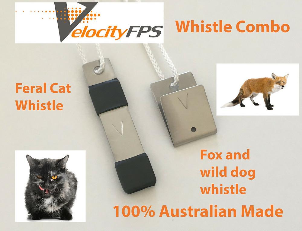 NEW FOX & CAT WHISTLE CALLER