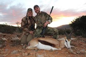 Springbok Safaris At Royal Karoo Hunting Safaris