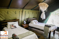 Ranchero Safaris Air Conditioned Safari Tent