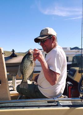 Nice Fish Taken On San Carlos Lake In Arizona