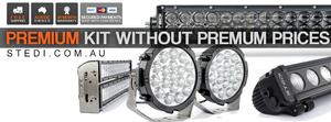 STI LED driving lights and light bars