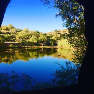 Arizona Hunting Deer Over Water