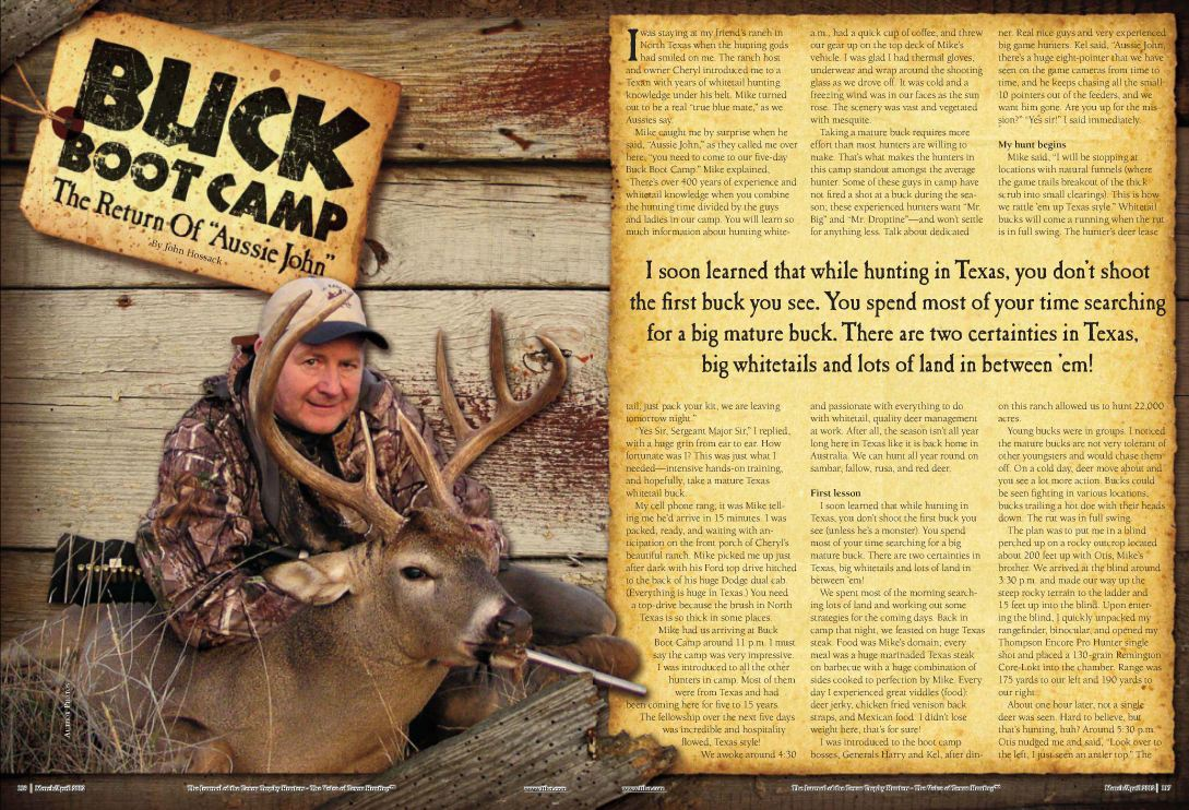 Texas Trophy Hunters Mag Artical