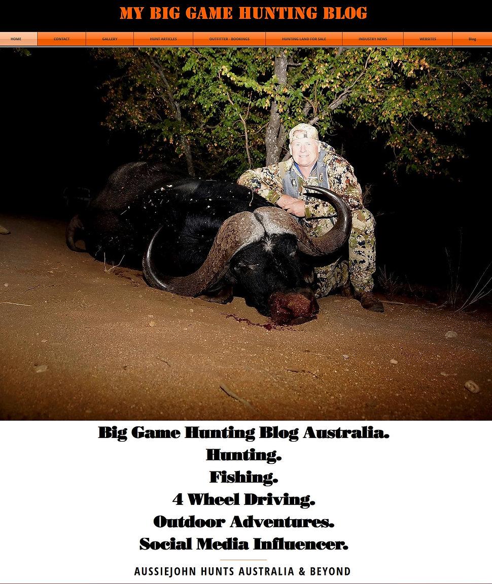 My Hunting Blog www.myhuntingblog.com
