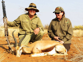 Springbok Plains Game Hunting