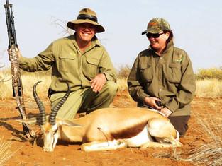Springbok Plains Game Hunting