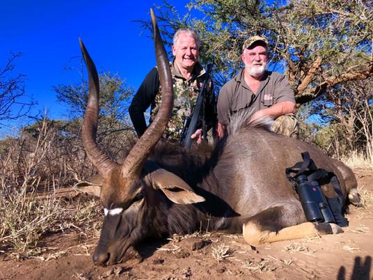 Nyala Black Powder Hunt In Limpopo...