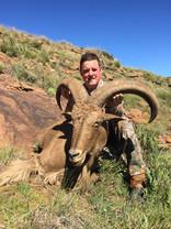 Eastern Cape Aoudad Taken With Royal Karoo Safaris