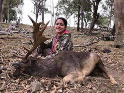 Young Marys Fallow Buck Rut Hunt