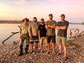 The Queensland Hunting Safari Adventure Crew