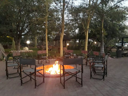 Ranchero Safaris Camp Fire Limpopo Hunting Lodge