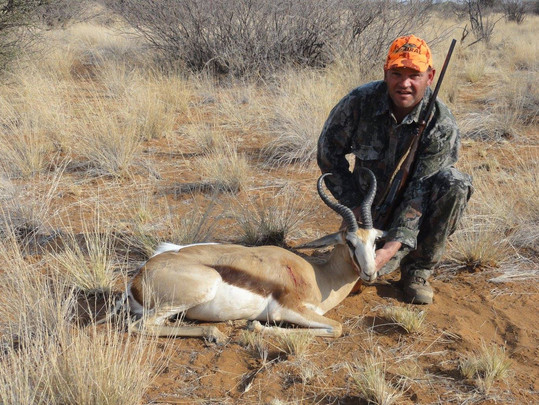 Springbok Plains Game Hunting Packages