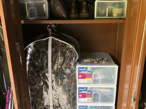 Sitka Clothing Storage Ideas Between Hunting Trips
