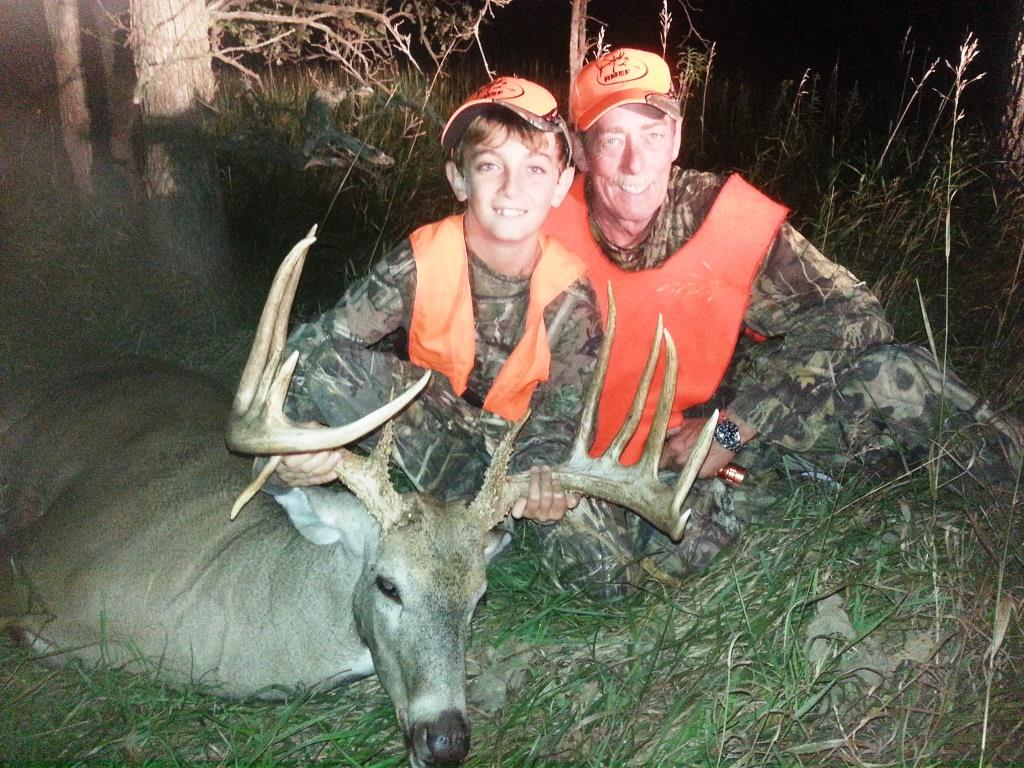 Youth Whitetail Hunting Kansas