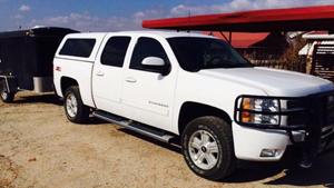 AussieJohn Chevrolet Silverado 4WD Quad Cab hunting rig in Texas