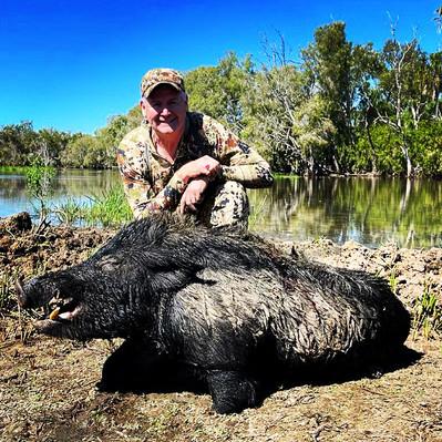 AussieJohn Hog Hunting In Australia.JPG