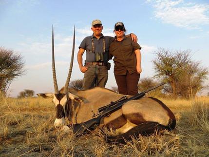 Beautiful Gemsbok Taken With Downunder Taxidermy Studio & Africa Hunting Packages