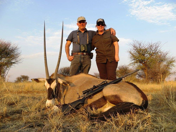 Beautiful Gemsbok Taken With Downunder Taxidermy Studio & Africa Hunting Packages