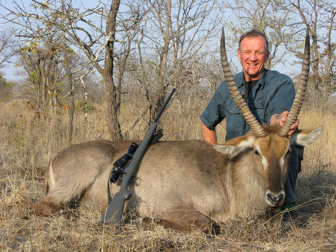 Water Buck Hunted With Markus Michalowitz Downunder Taxidermy Studio & Guiding Services