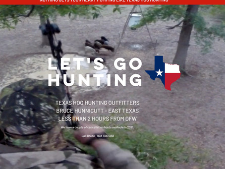 TEXAS HOG HUNTING OUTFITTERS!