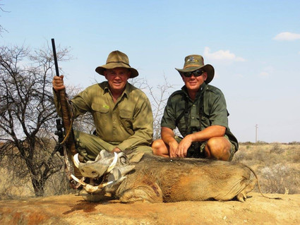 Wart Hog Hunting