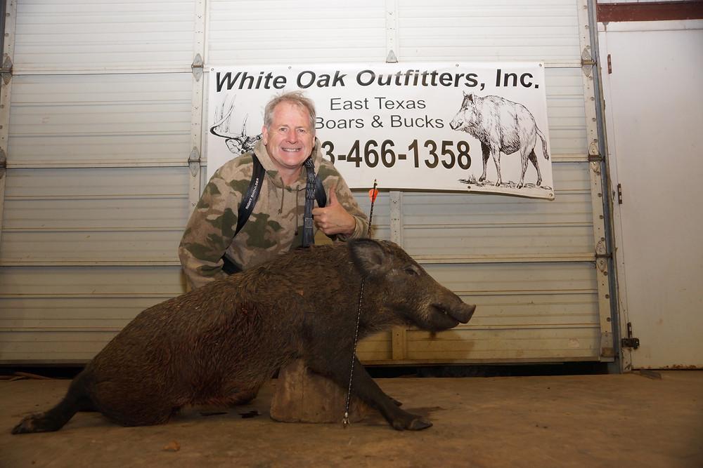 Hunting Texas Hogs With www.texasboarsnbucks.com