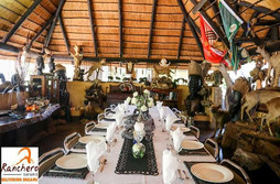 Ranchero Safari Dinning Room Limpopo South Africa Hunting Outfitters