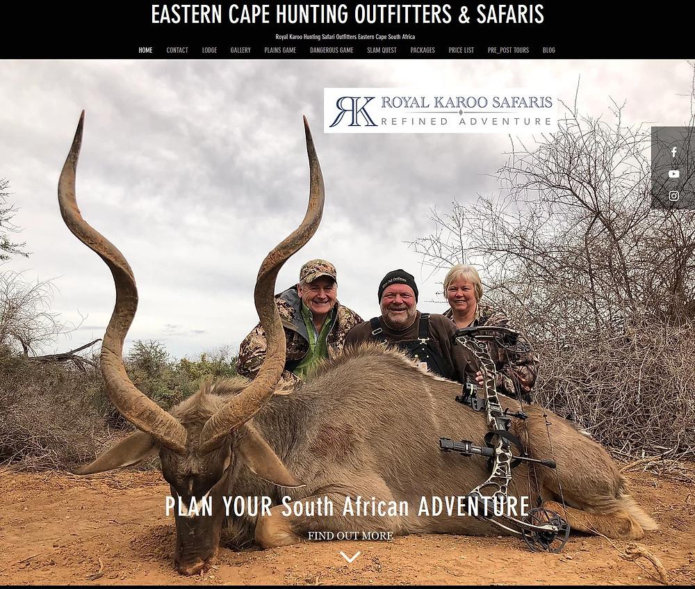 Bruce & Becky Hunnicutt's Hunting Adventure - AussieJohn Outfitter Websites