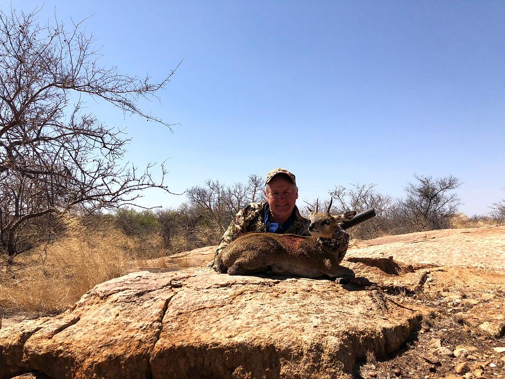 Klipspringer Hunting In Limpopo South Africa