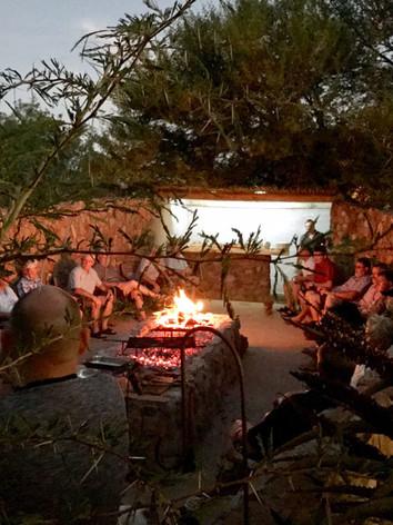 Eastern Cape Hunting Lodge Braai
